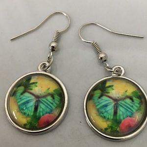 Colorful butterfly 🦋 earrings